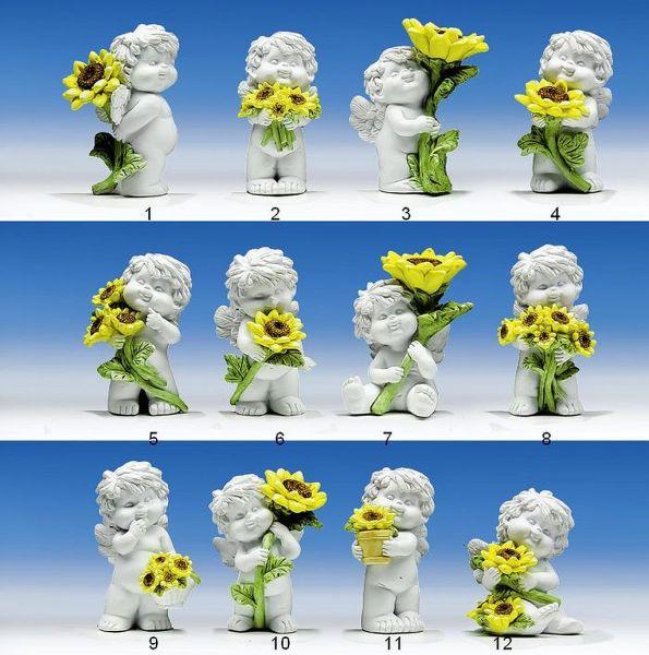 Engel Igor mit Sonnenblumen Gr. S
