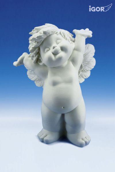 Engel Igor XL stehend ( Arme hoch )