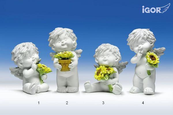 Engel Igor mit Sonnenblume Gr. M1