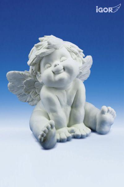 Engel Igor XL sitzend ( Grätsche )