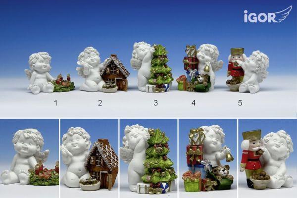 Engel Igor zur Weihnachtszeit