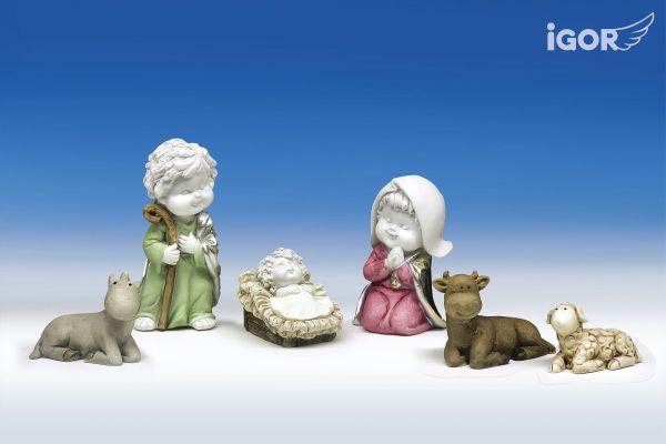 Engel Igor als Heilige Familie
