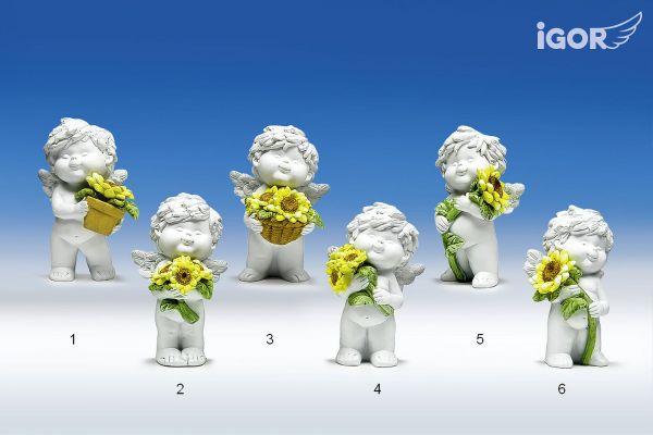 Engel Igor mit Sonnenblumen Gr. M