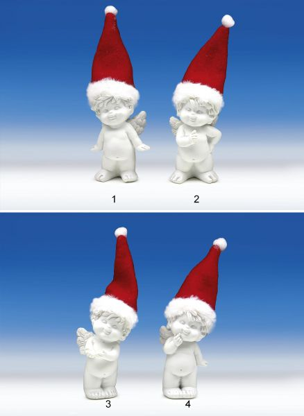 Engel Igor mit Santa Mütze Gr. S
