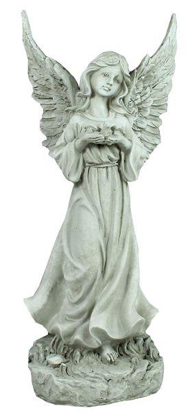 Grabschmuck Engel mit Friedenstaube